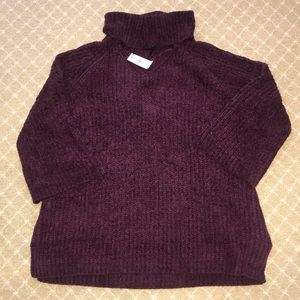 NWT Lane Bryant Chenille Cowl Neck Sweater